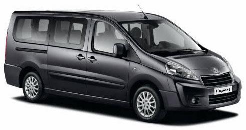 <h4>Peugeot Expert Minibus</h4>